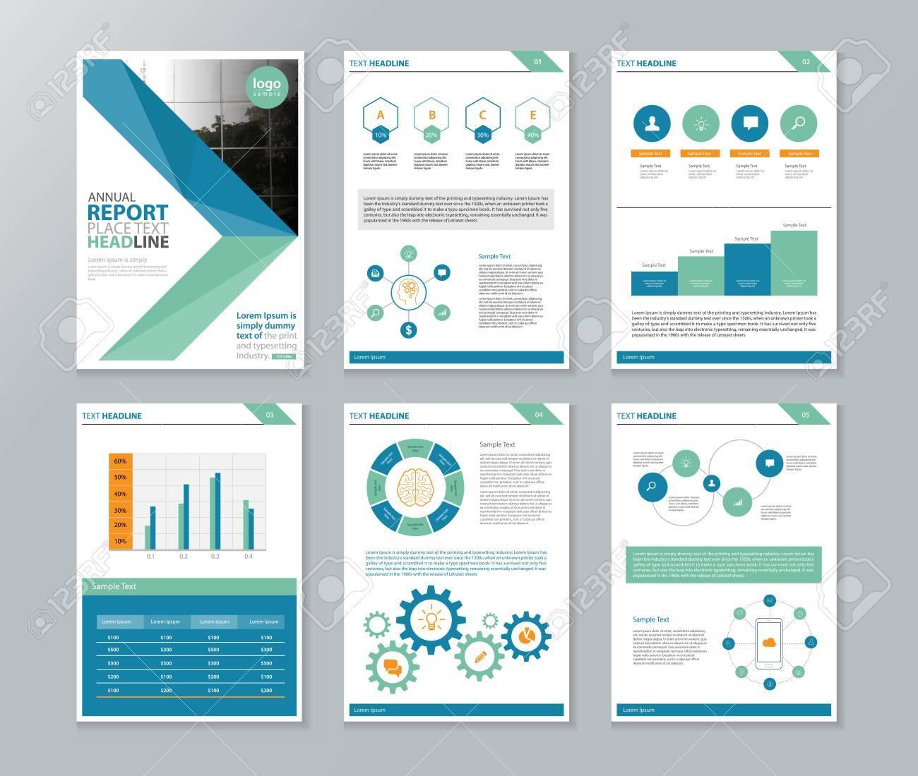business company profile annual report brochure flyer Oyle