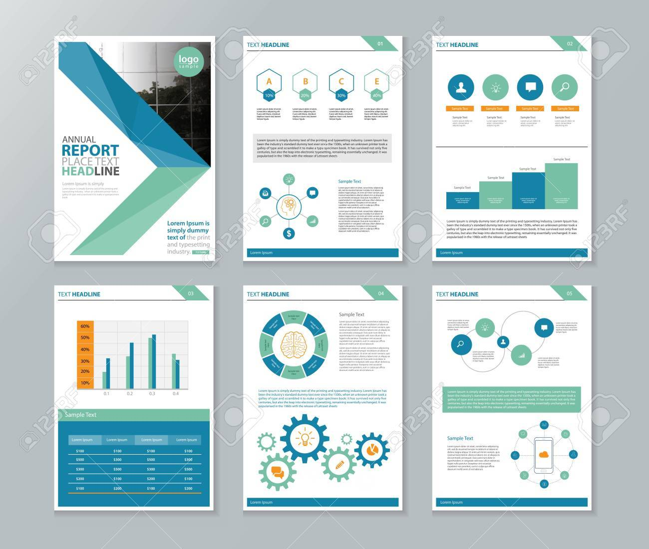 Company Profile ,annual Report , Brochure , Flyer, Page Layout Template,and  Business  Company Annual Report Sample