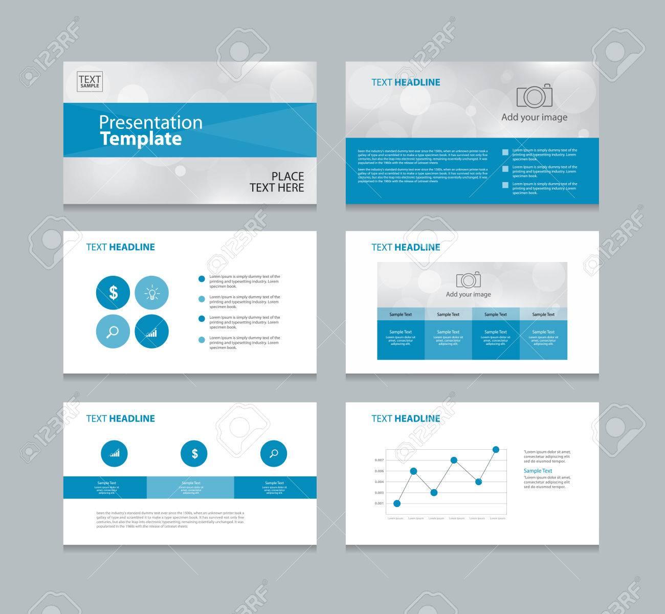 Plantilla De Diseño De Página De Resumen De Diseño Para La ...