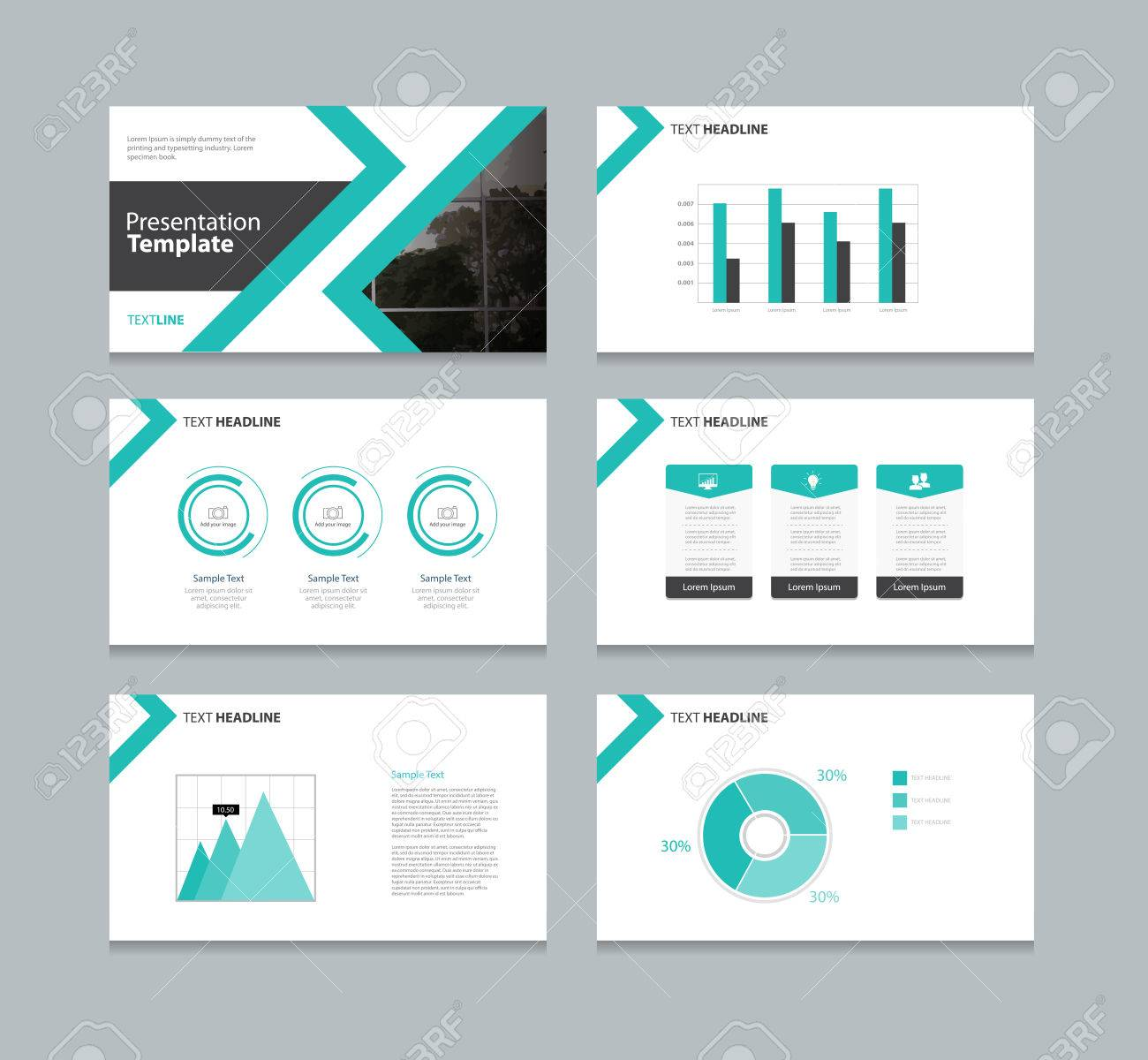 Abstract Cover Background And Page Layout Design Template For - Presentation cover page template