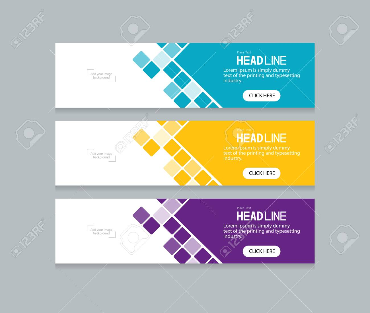 Abstract Web Banner Design Template Royalty Free Cliparts Vectors And Stock Illustration Image 77170209