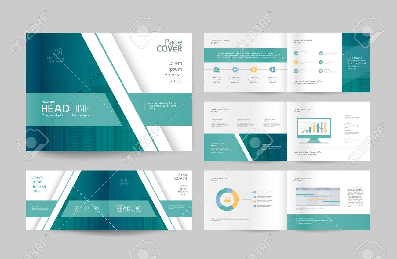 Business Brochure Design Template And Page Layout For Company Royalty Free Cliparts Vectors And Stock Illustration Image 79170749