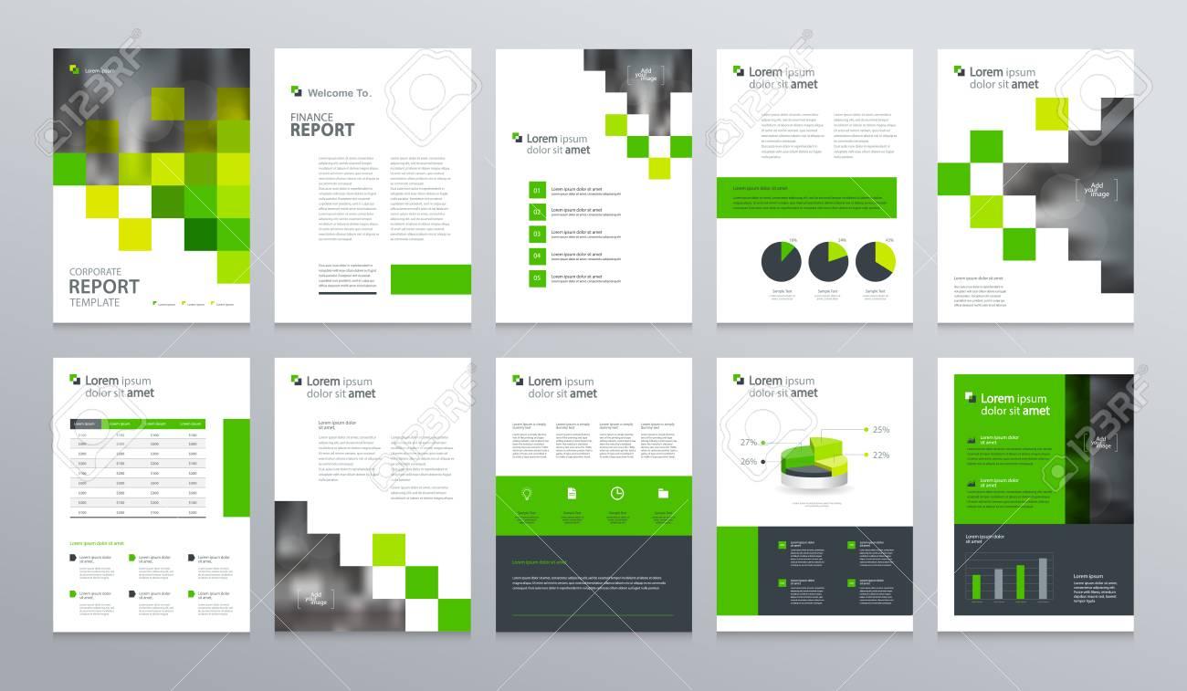 business company profile annual report brochure flyer