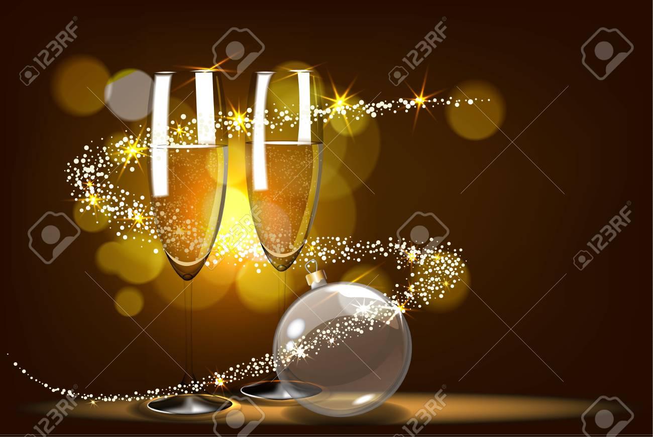 Romantic christmas card design. - 88503647