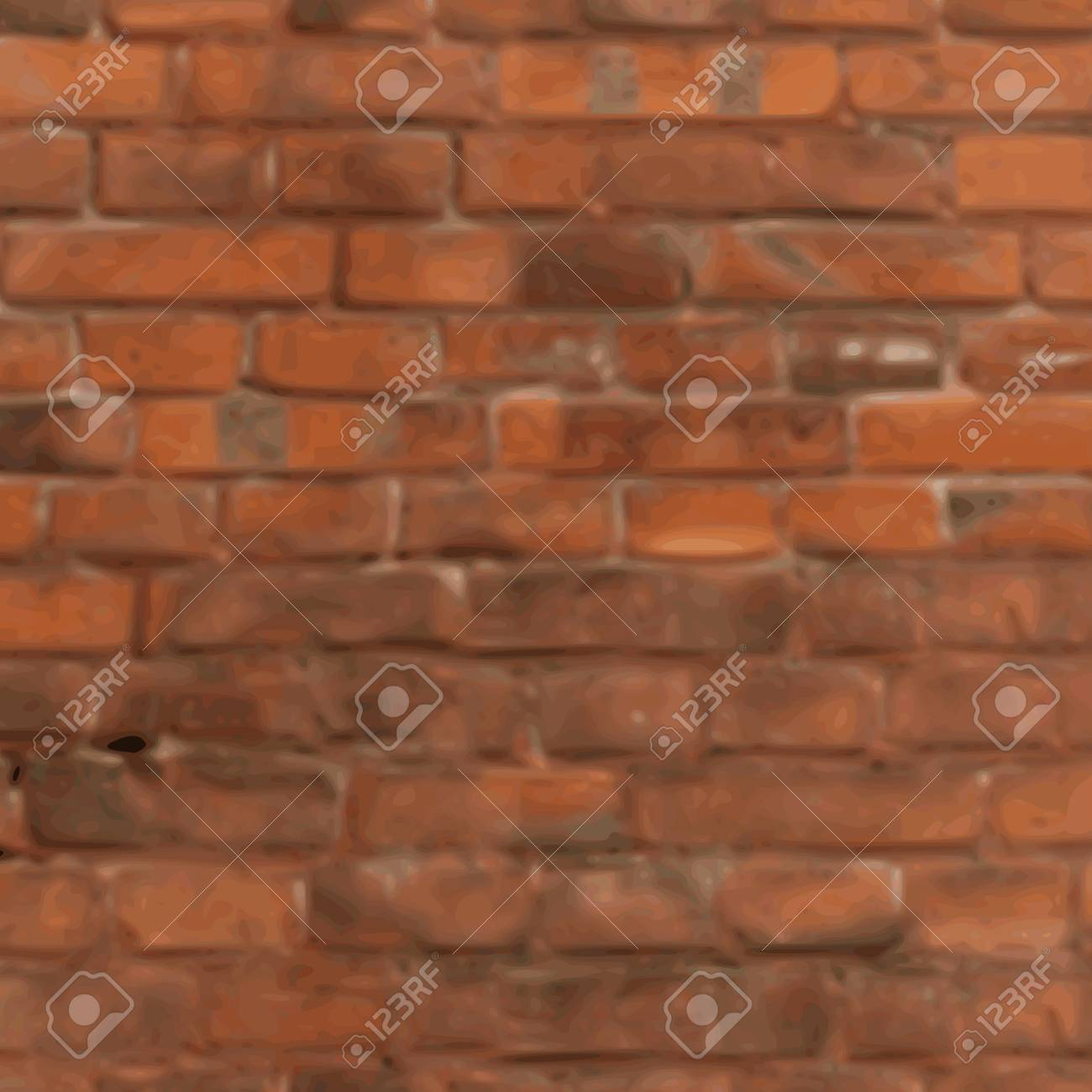 old grunge brick wall background - vector Stock Vector - 13285909