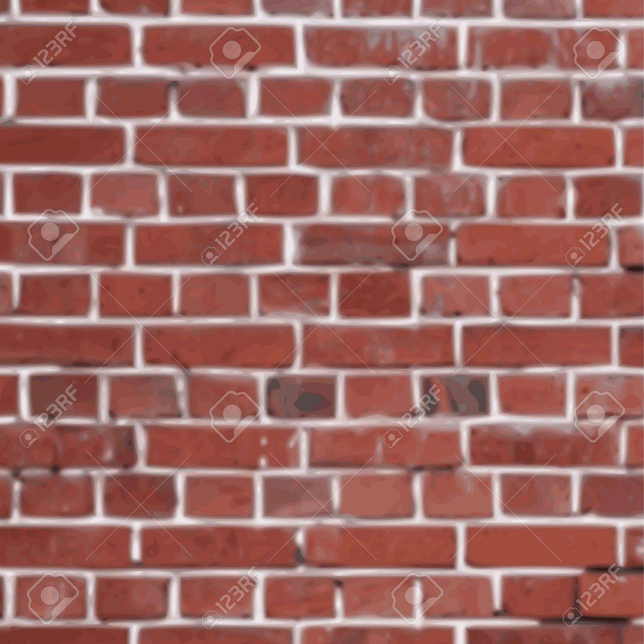 old grunge brick wall background - vector Stock Vector - 13285907