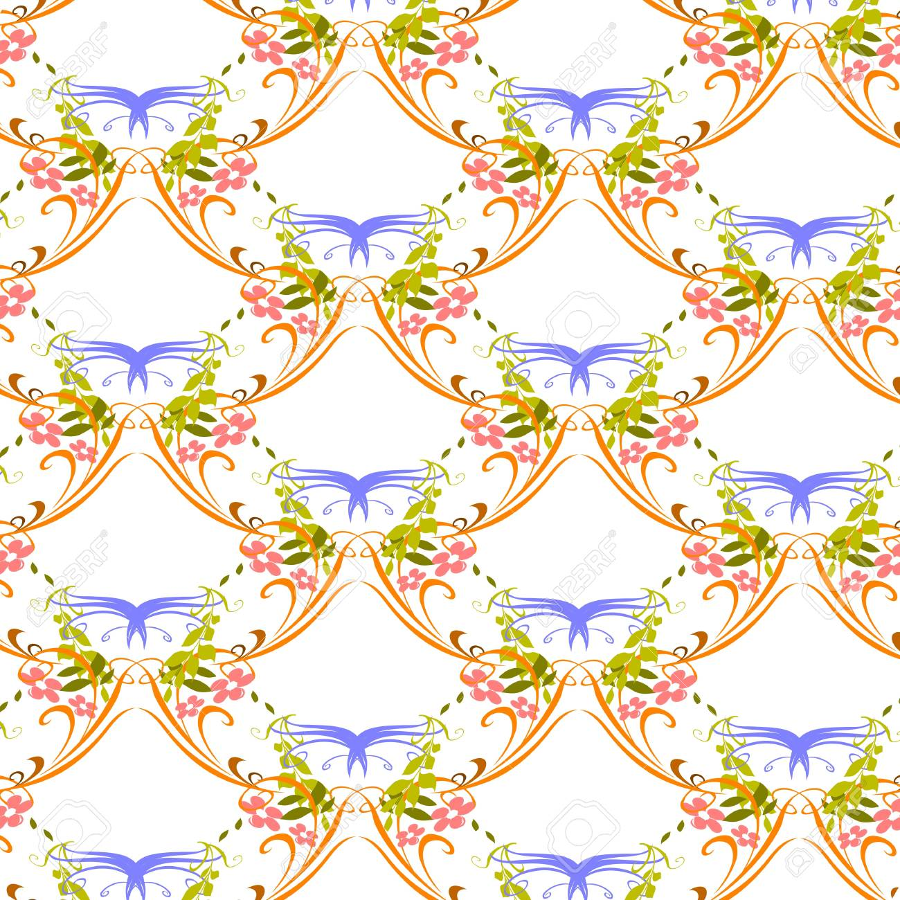 seamless pattern - vector Stock Vector - 13285665