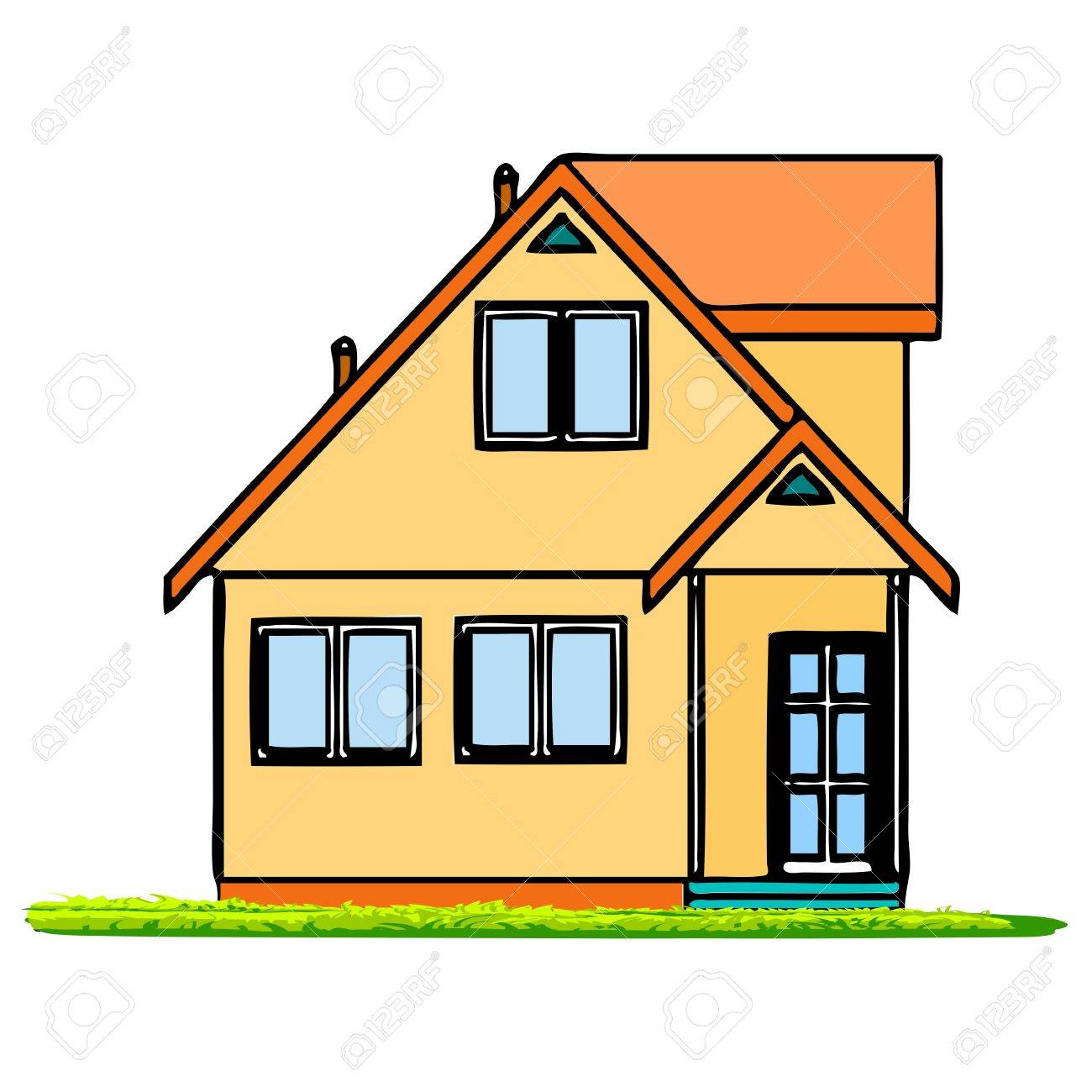 House - vector Stock Vector - 13741519