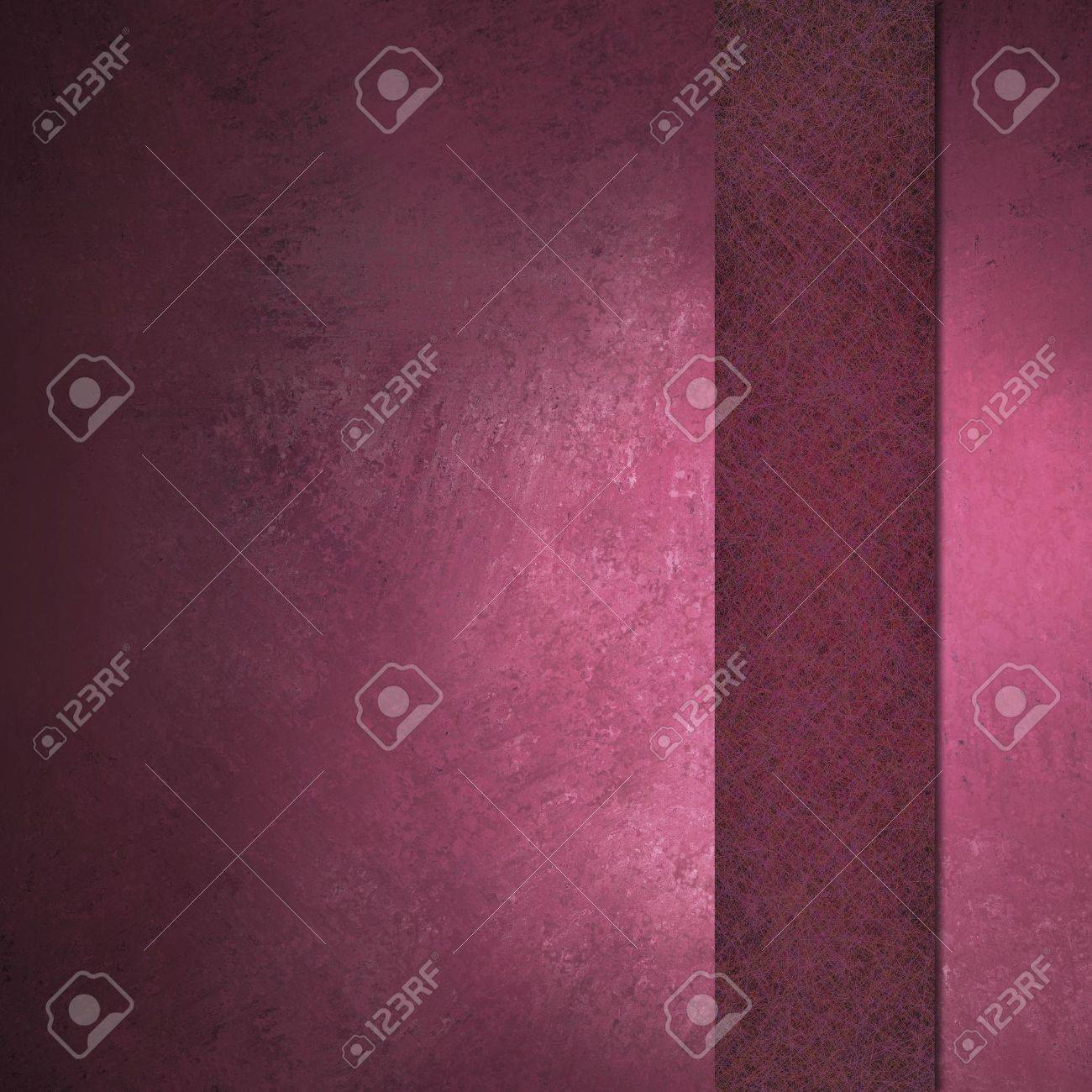 Pink background with ribbon on border with vintage grunge texture and copy space Stock Photo - 11230946