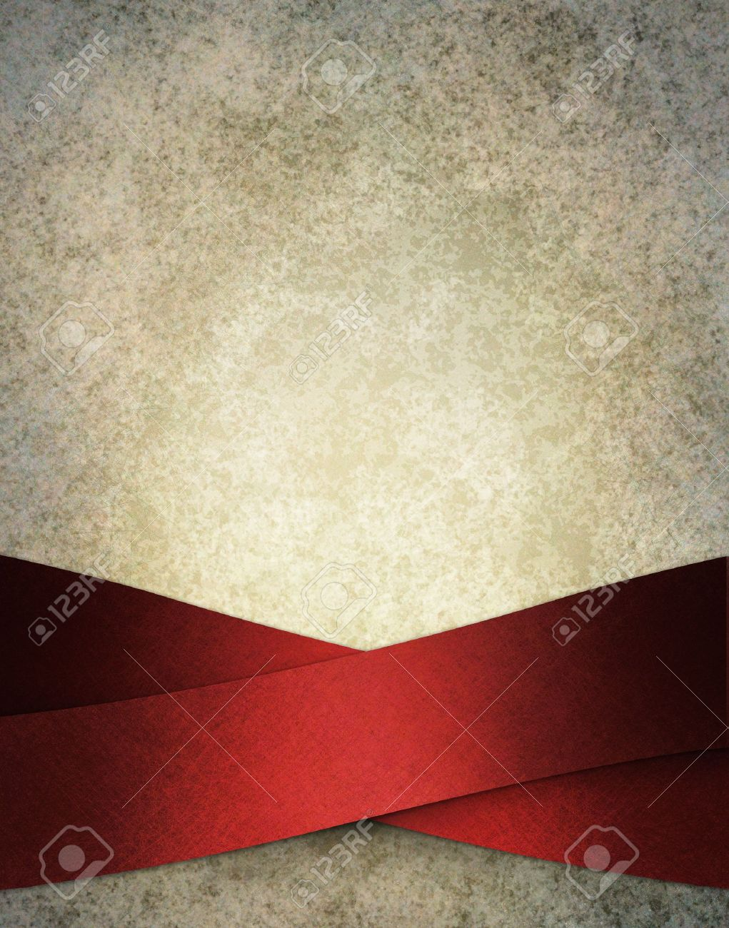 Banco De Imagens   Snowy Frosty White Background Illustration With Luxurious  Elegant Red Ribbon Stripes In Artsy Layout Design On Border Of Frame With  Copy ...