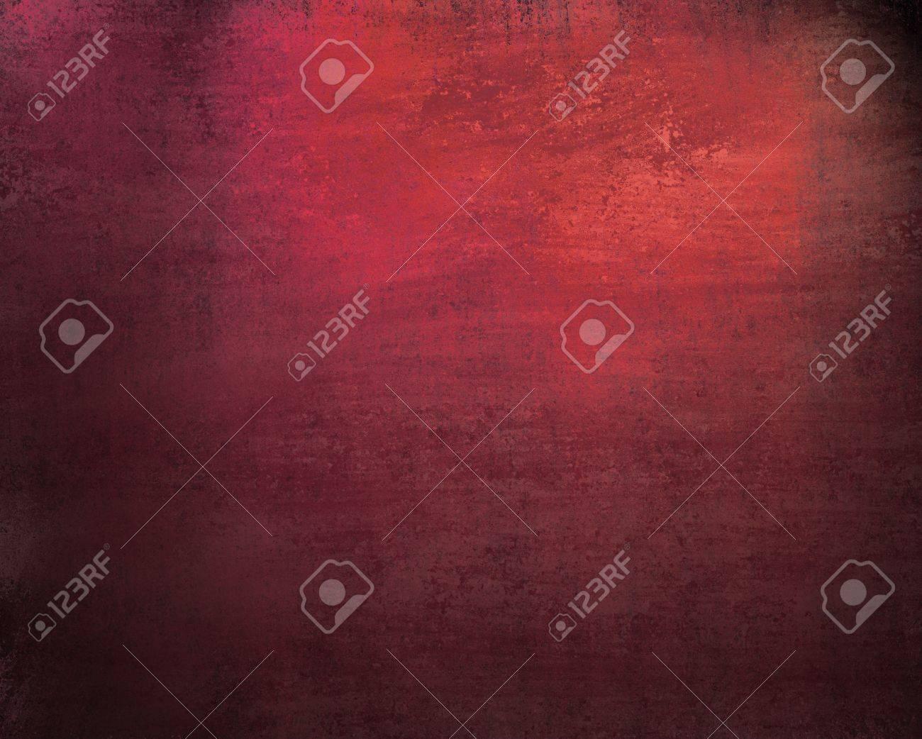 Hermosa Rosa De Fondo Rojo Con Textura Oscura época Del Grunge Y La ...