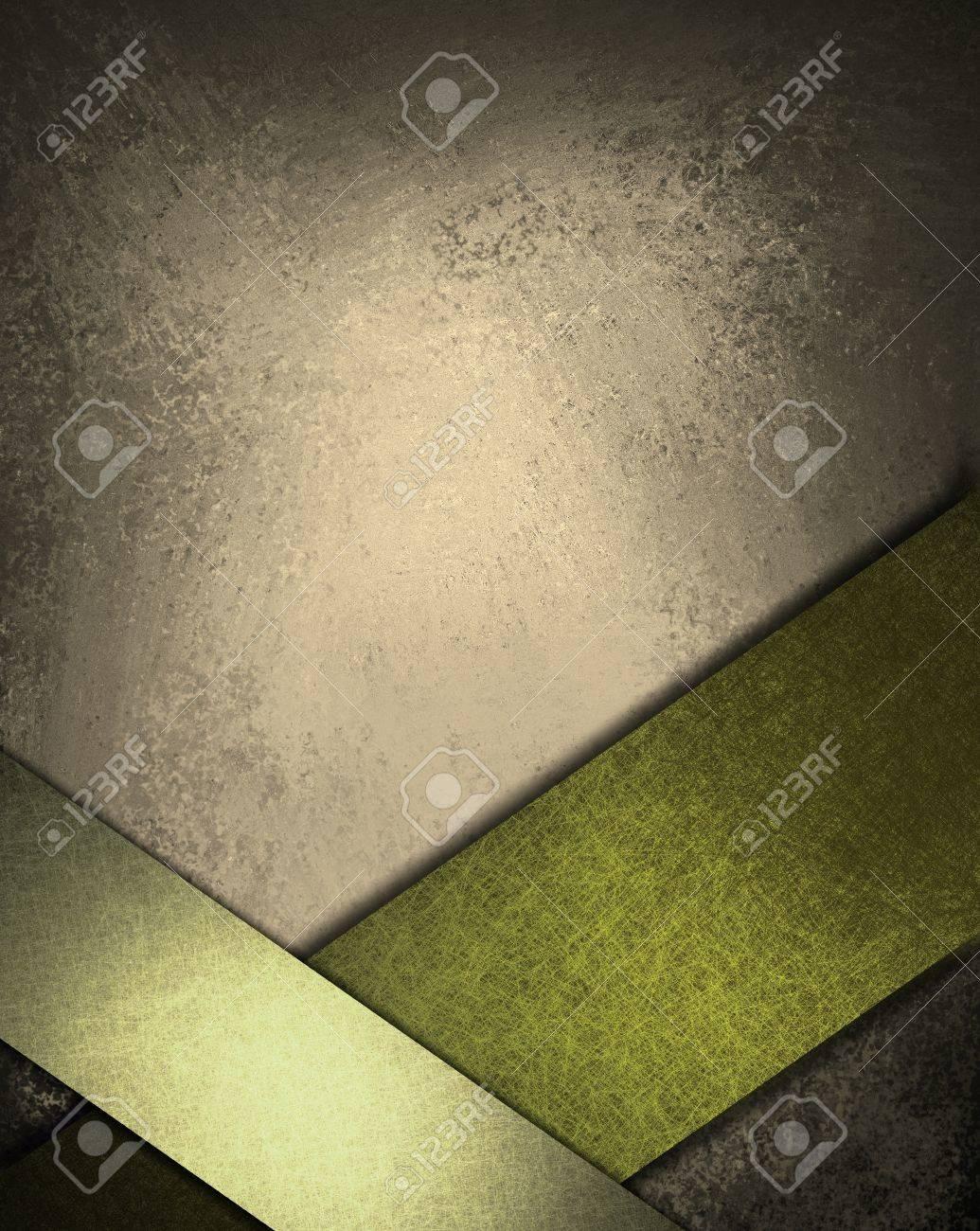 Marrón Y Gris De Fondo Verde Con Colores Ricos Y Profundos De La ...