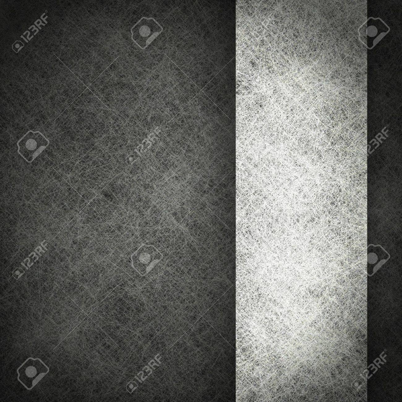 black background with grunge texture and vintage parchment paper illustration on white ribbon with copyspace; monochrome background Stock Photo - 12624096