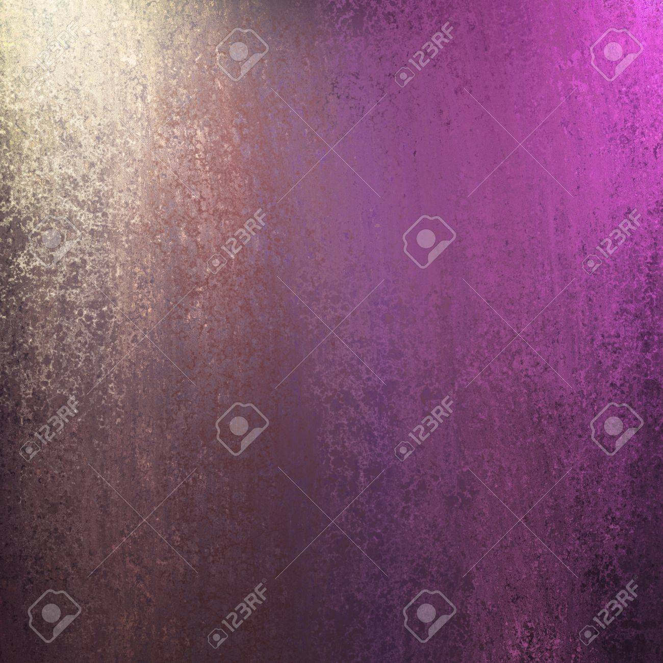 pink and purple background with corner lighting and soft faded vintage grunge sponge texture design layout with copyspace Stock Photo - 12624104