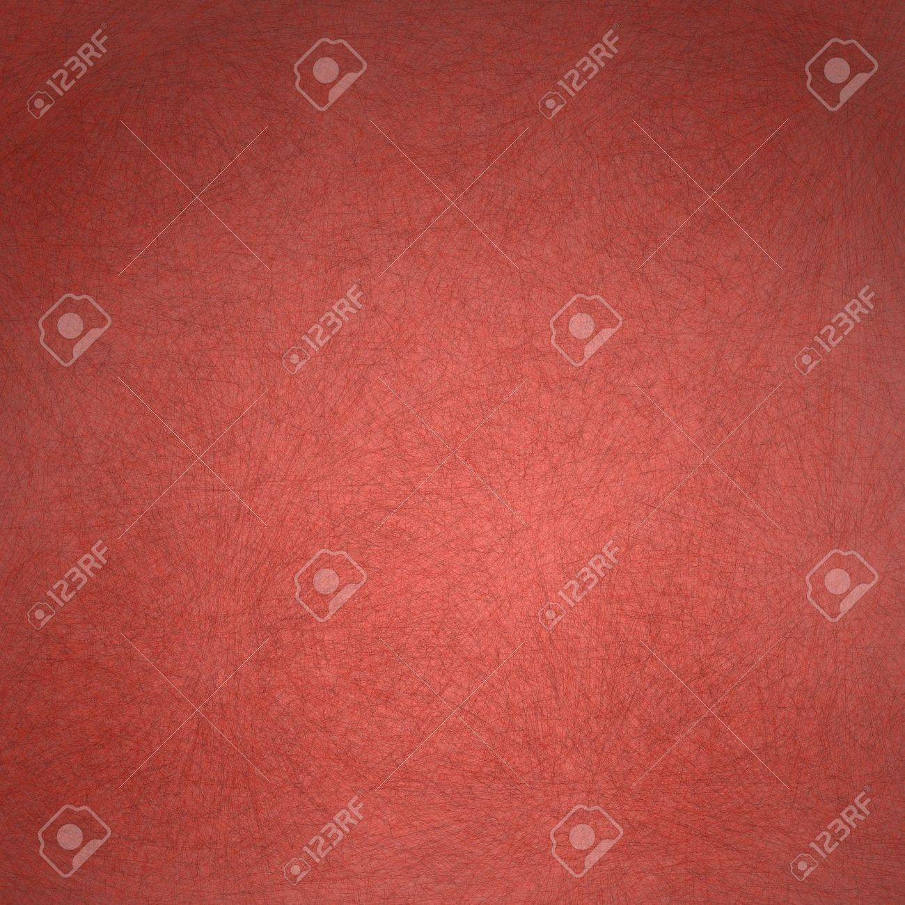 red background with old faded vintage grunge texture with darker edges on frame and bright center highlight for valentine s day text or Christmas backdrop Stock Photo - 13002360