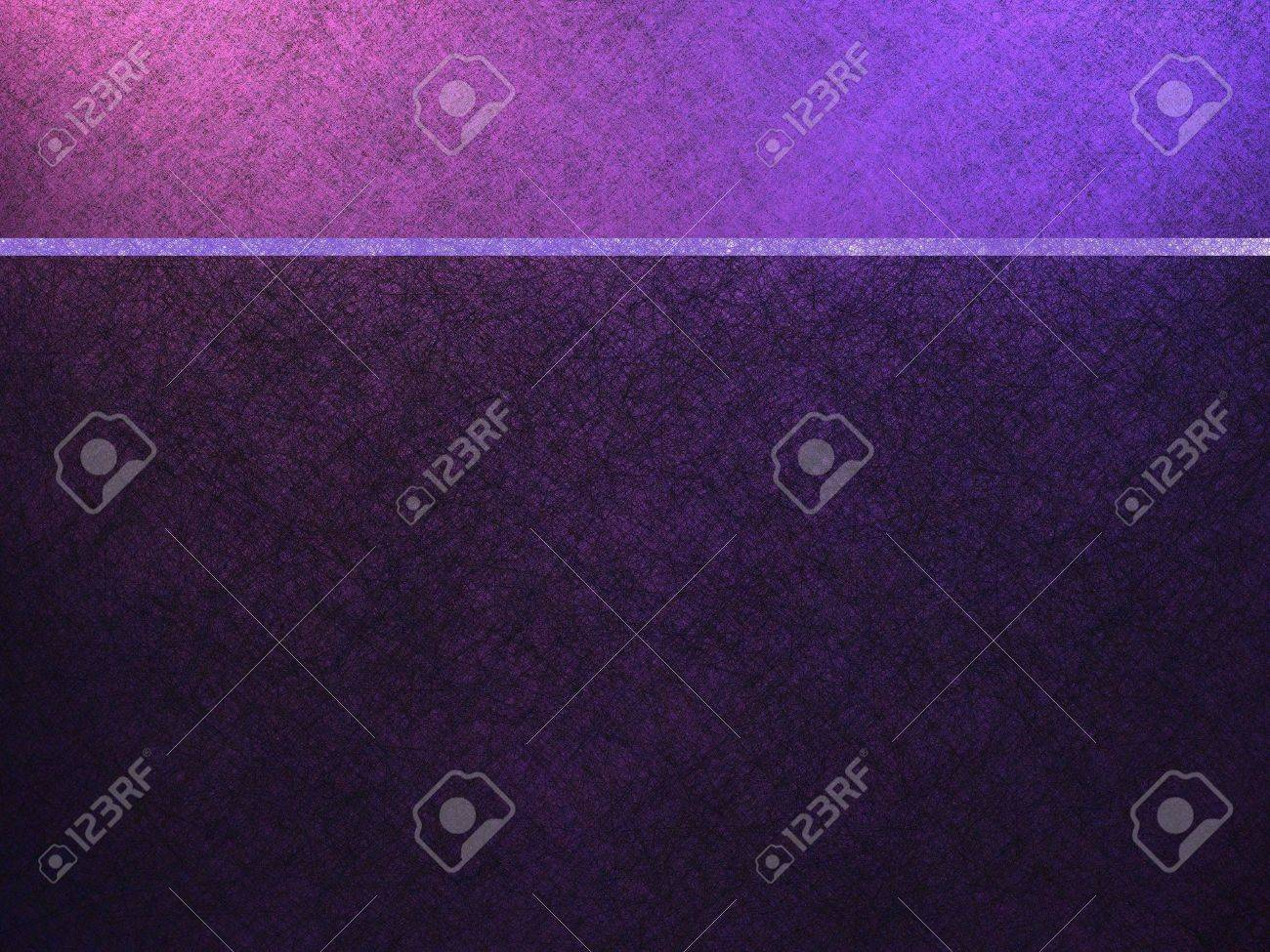 Purple Background Or Website Template With Header Banner Bar Stock