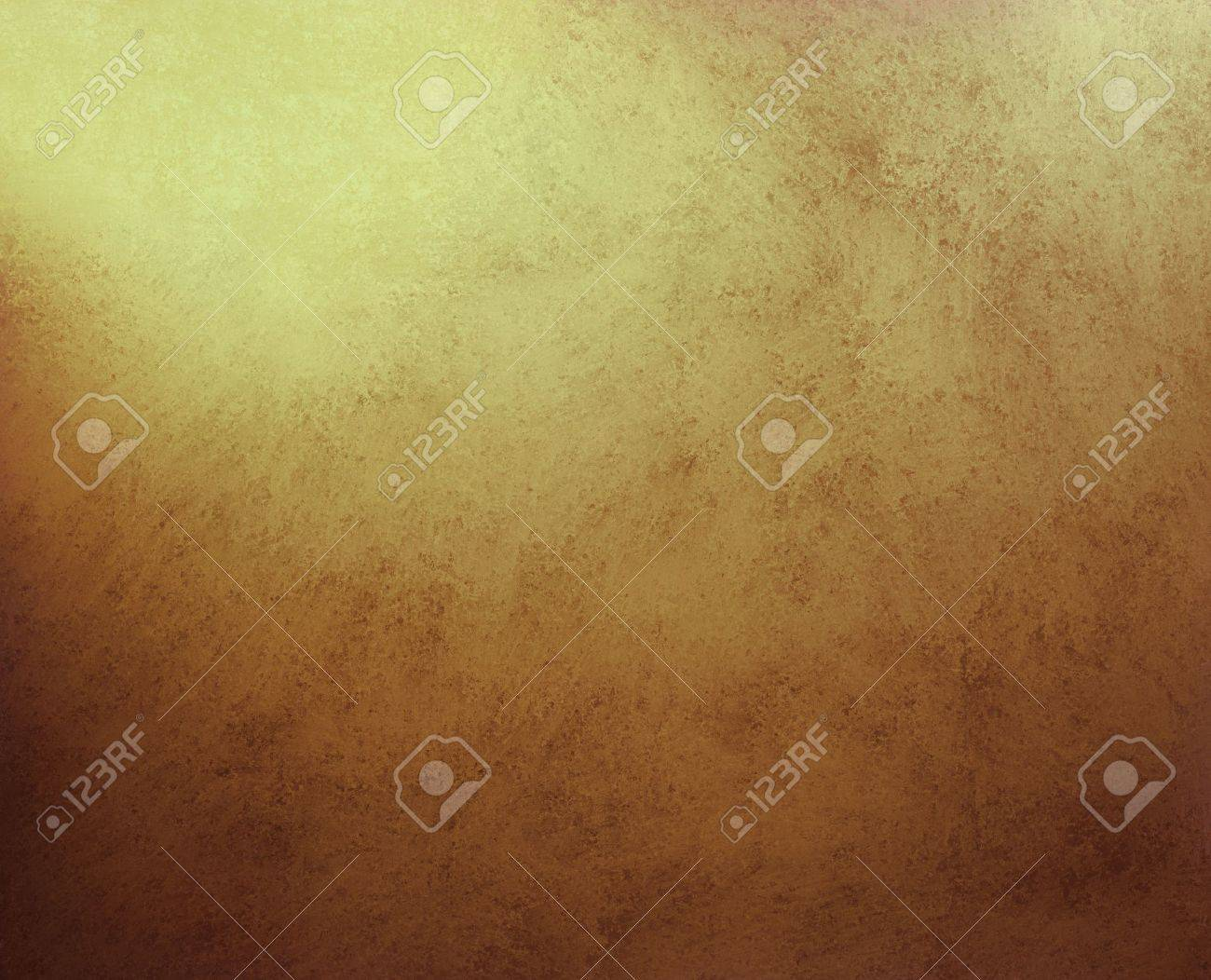 Gold Background Or Brown Paper With Gold Highlights With Abstract ...