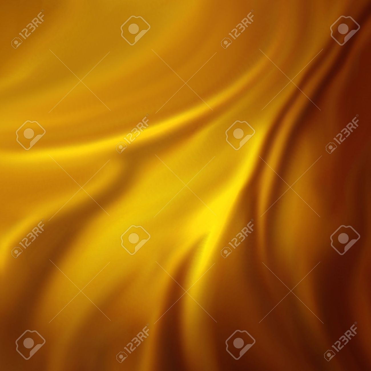 abstract gold background luxury cloth or liquid wave or wavy folds of grunge silk texture satin velvet material or gold luxurious Christmas background or elegant wallpaper design, yellow background Stock Photo - 13544288