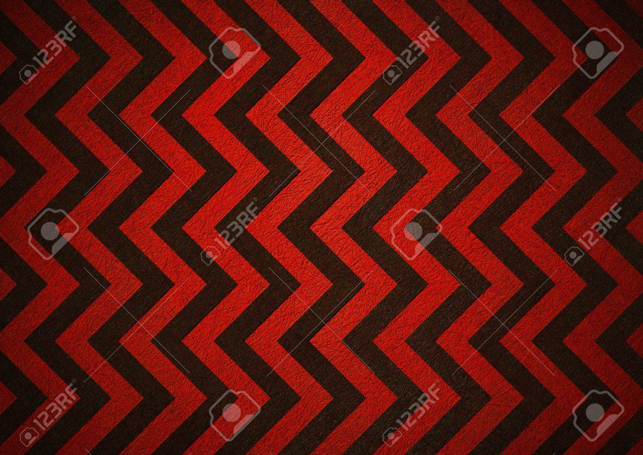 Retro red background of black