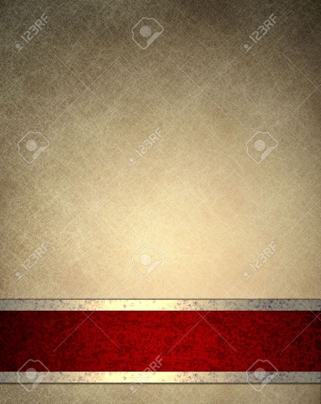Brown Beige Background With Old Parchment Texture Paper Design Or Elegant Wallpaper Frame