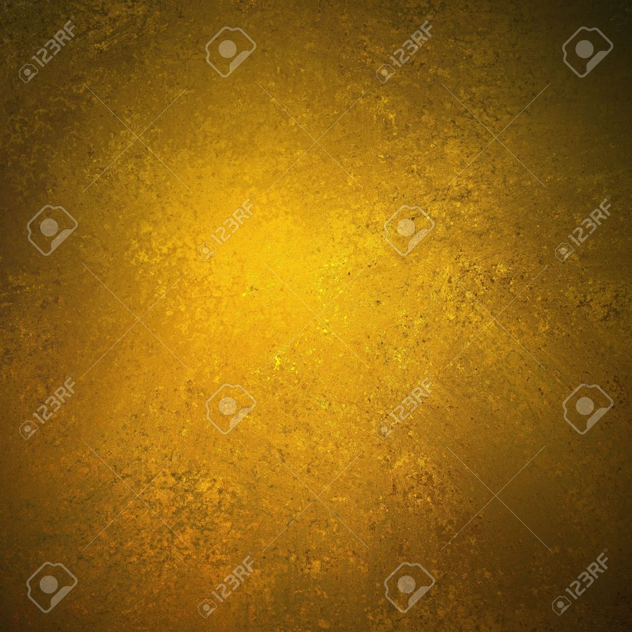 abstract gold background brown color design on border and black vintage grunge background texture, brown gold paper for golden anniversary announcements Stock Photo - 14187179