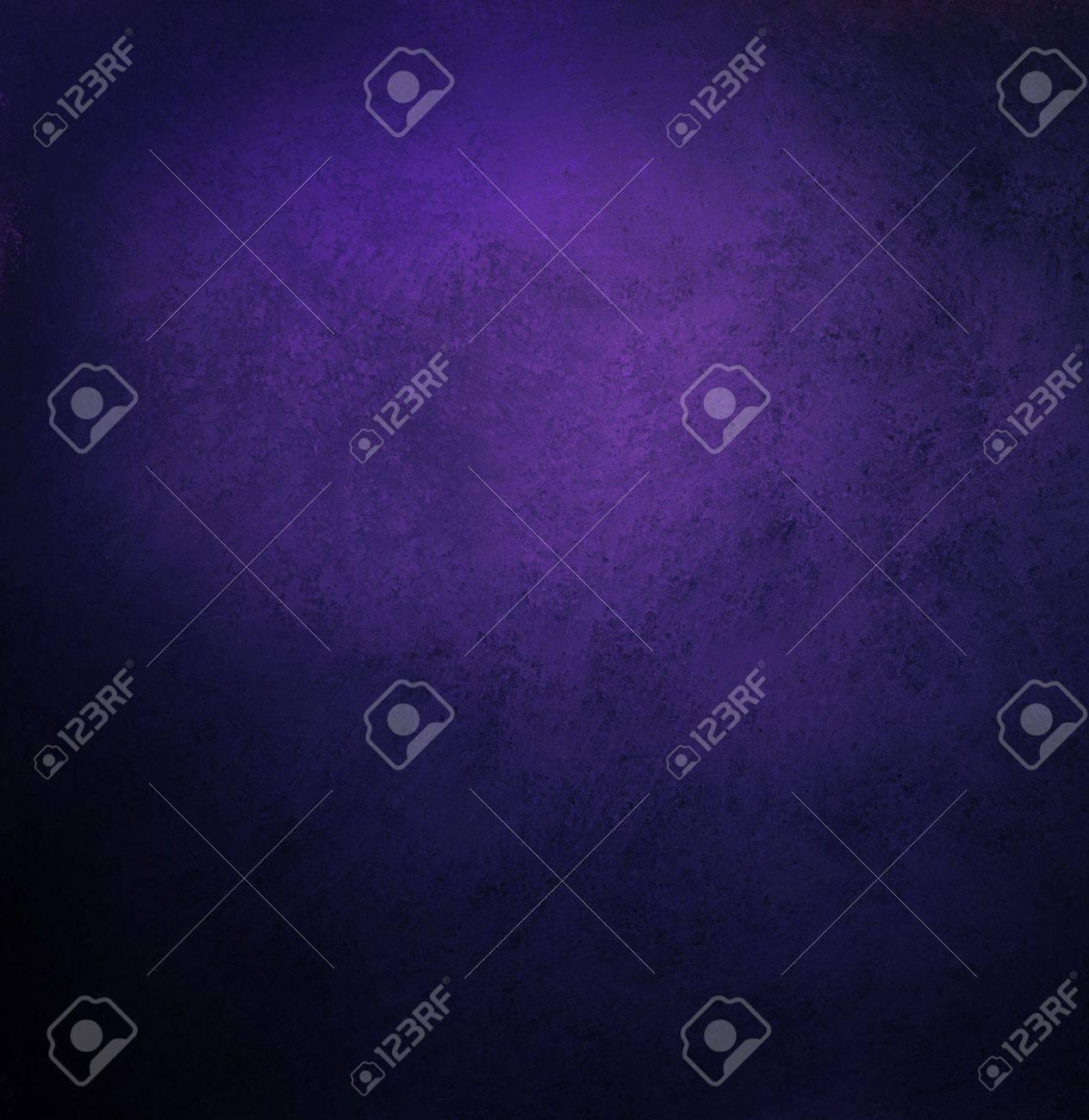 Black Blue Background, Dark Purple Colors, With Vintage Grunge ...