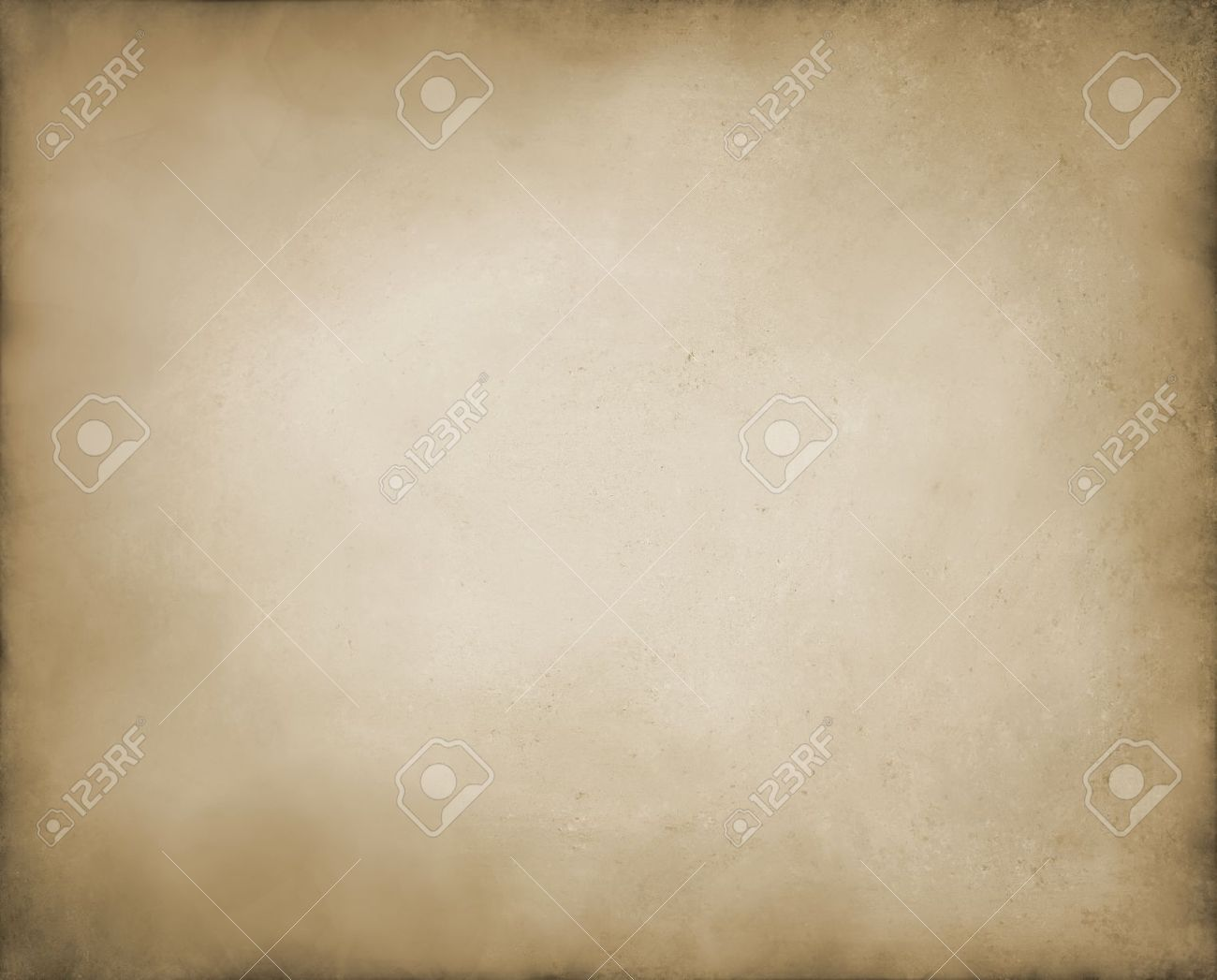 abstract brown background tan color, elegant warm background of vintage grunge background texture white center, pastel brown paper bag style or old parchment for brochure Stock Photo - 14365801