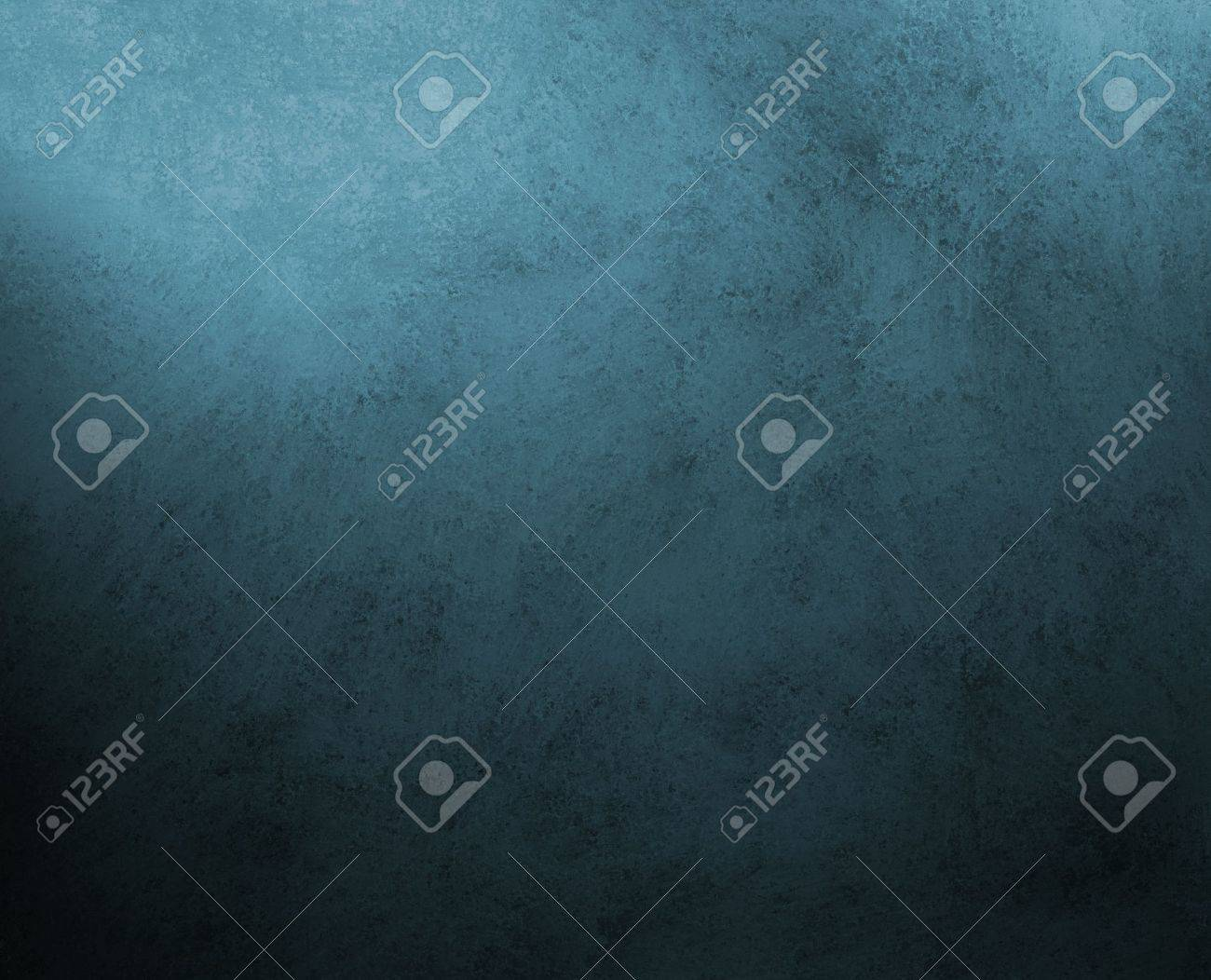 black blue background, dark colors, with vintage grunge background texture, abstract spots and stains around border, for elegant brochures, luxury ads, website templates, scrapbook Stock Photo - 14674419