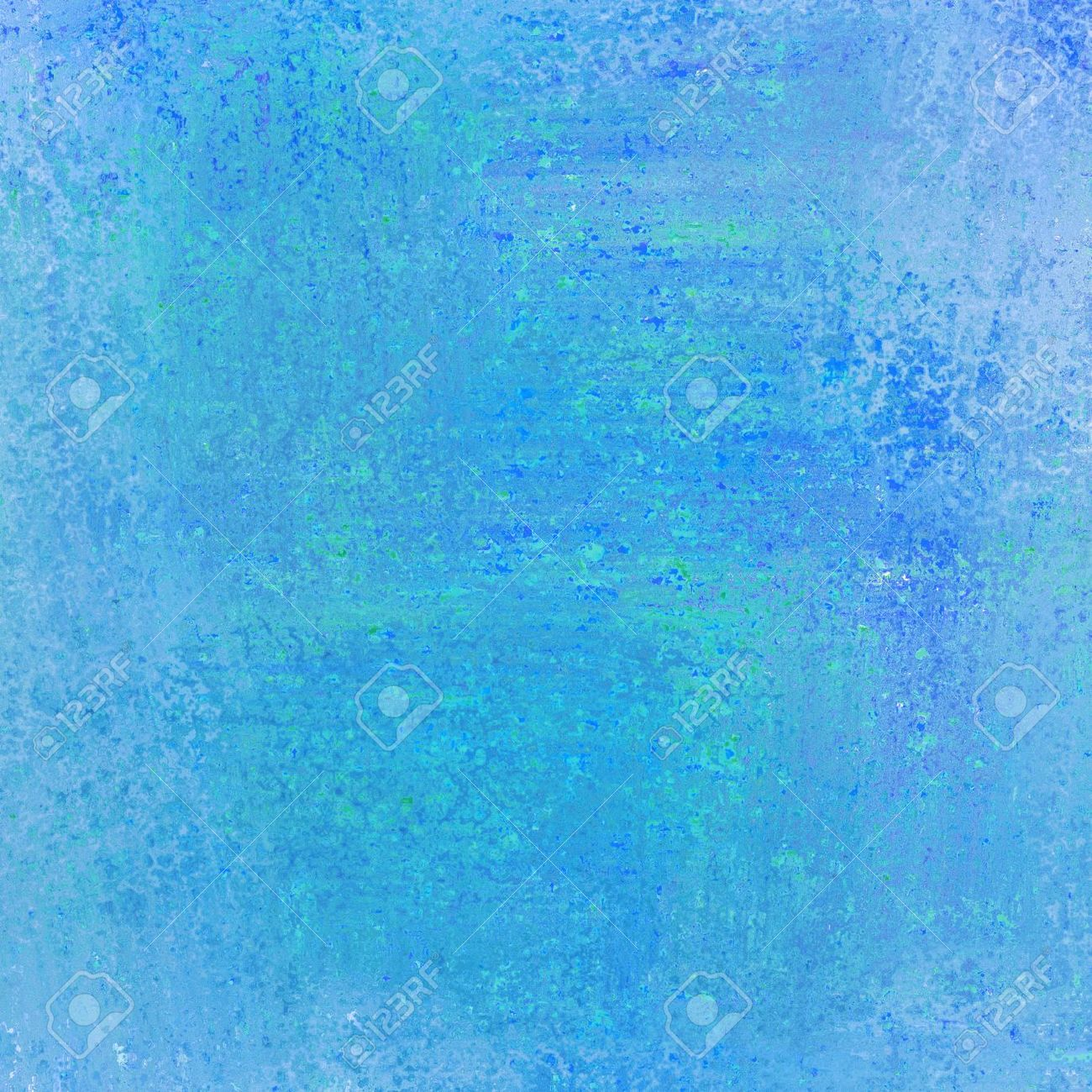 Abstract Blue Background Paper Layout With Rough Messy Old Vintage Texture Or Wallpaper Light