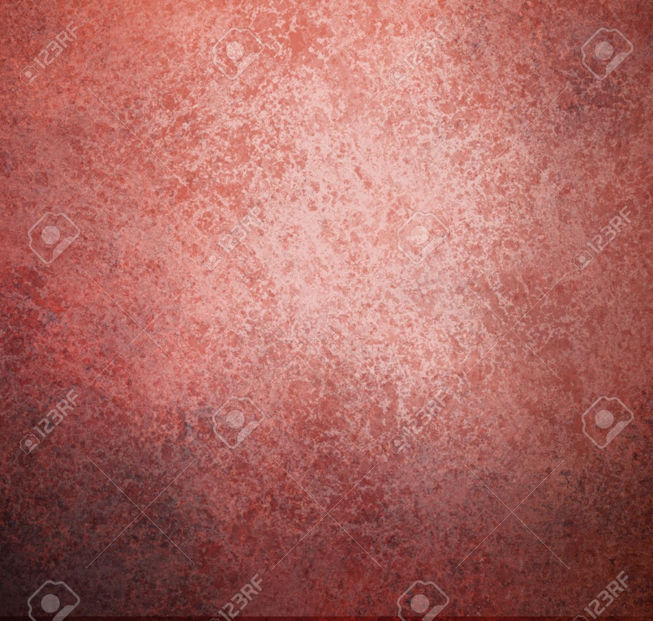 abstract pink background with red black vintage grunge background texture, grungy sponge design on border, red paper or red wallpaper for Christmas background or web template background or book cover Stock Photo - 15139253