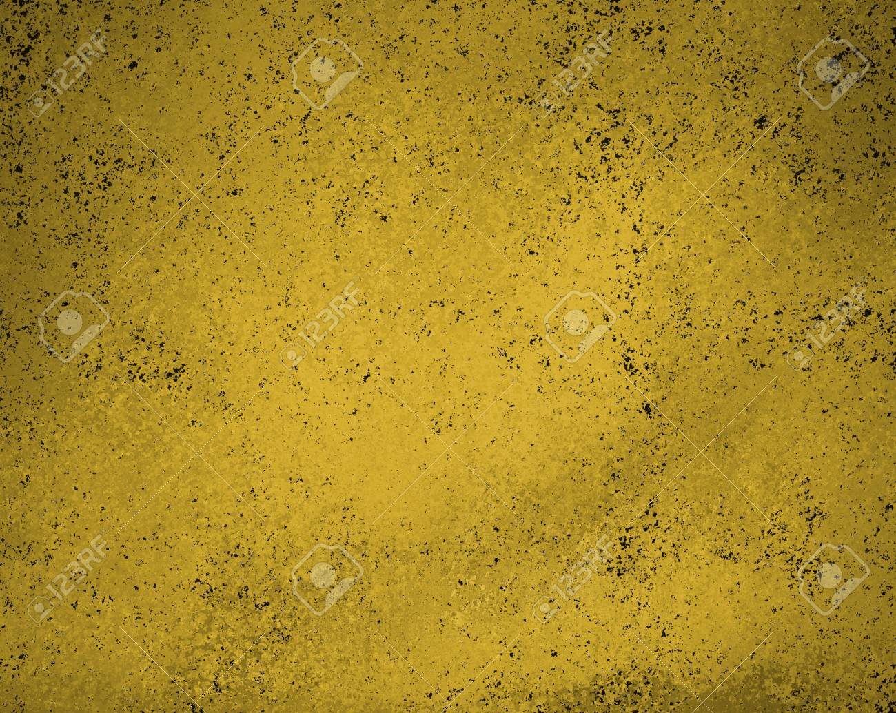 abstract gold background with black stains Stock Photo - 15806807