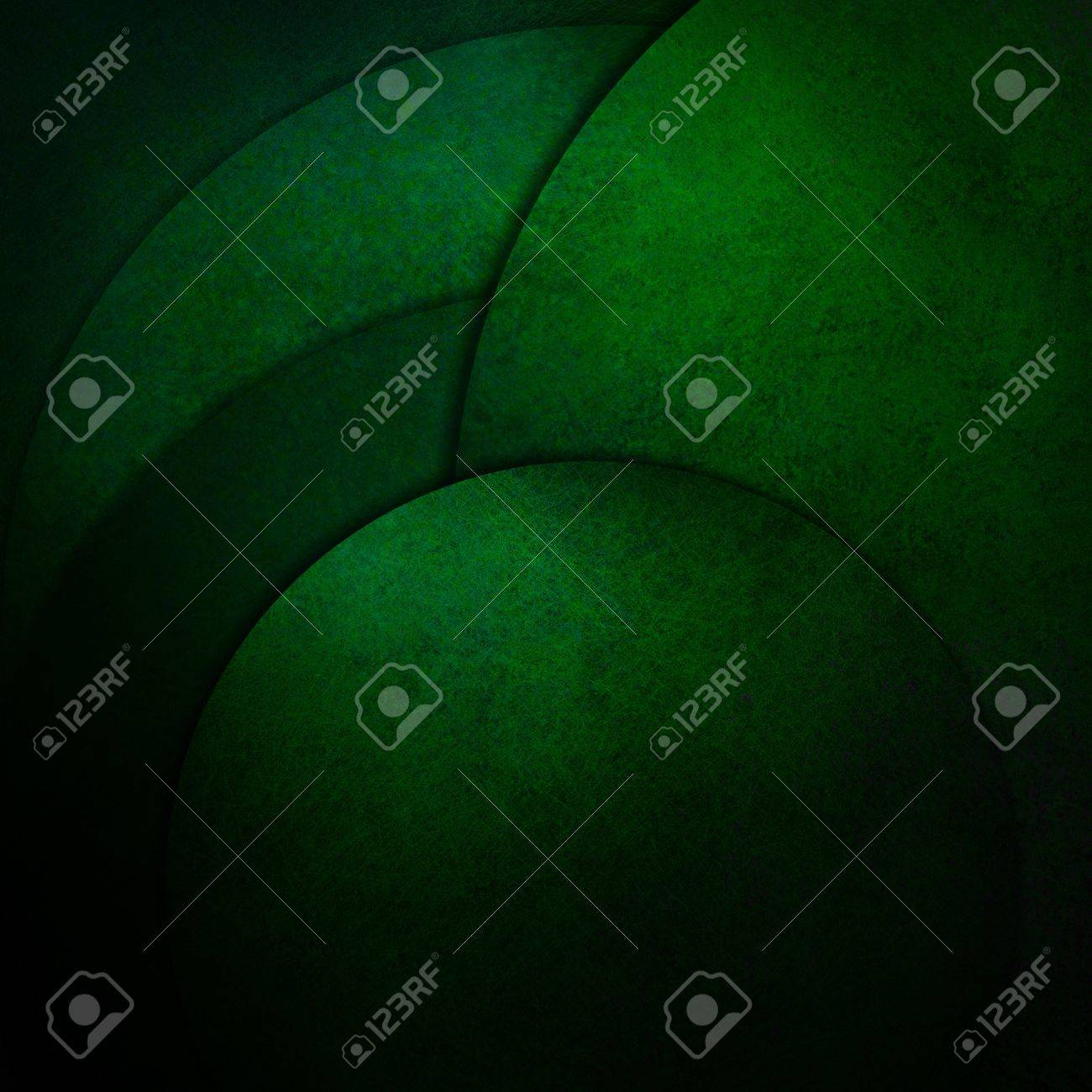 abstract green background paper, geometric round circle layers, artistic design layout, vintage grunge texture background, elegant modern art composition, green Christmas card background decoration Stock Photo - 16713335