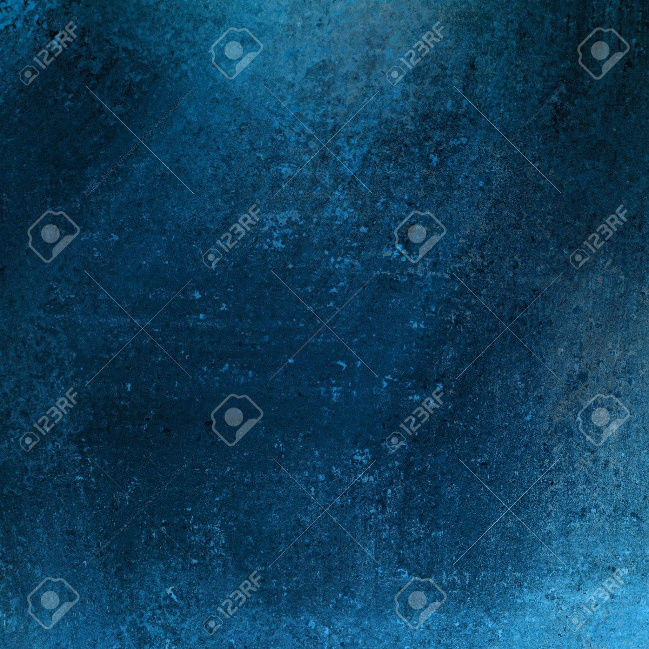 solid blue background abstract distressed antique dark background texture and grunge black edges on elegant wallpaper design, fancy painted background ad material with light blue backdrop color layout Stock Photo - 17116246