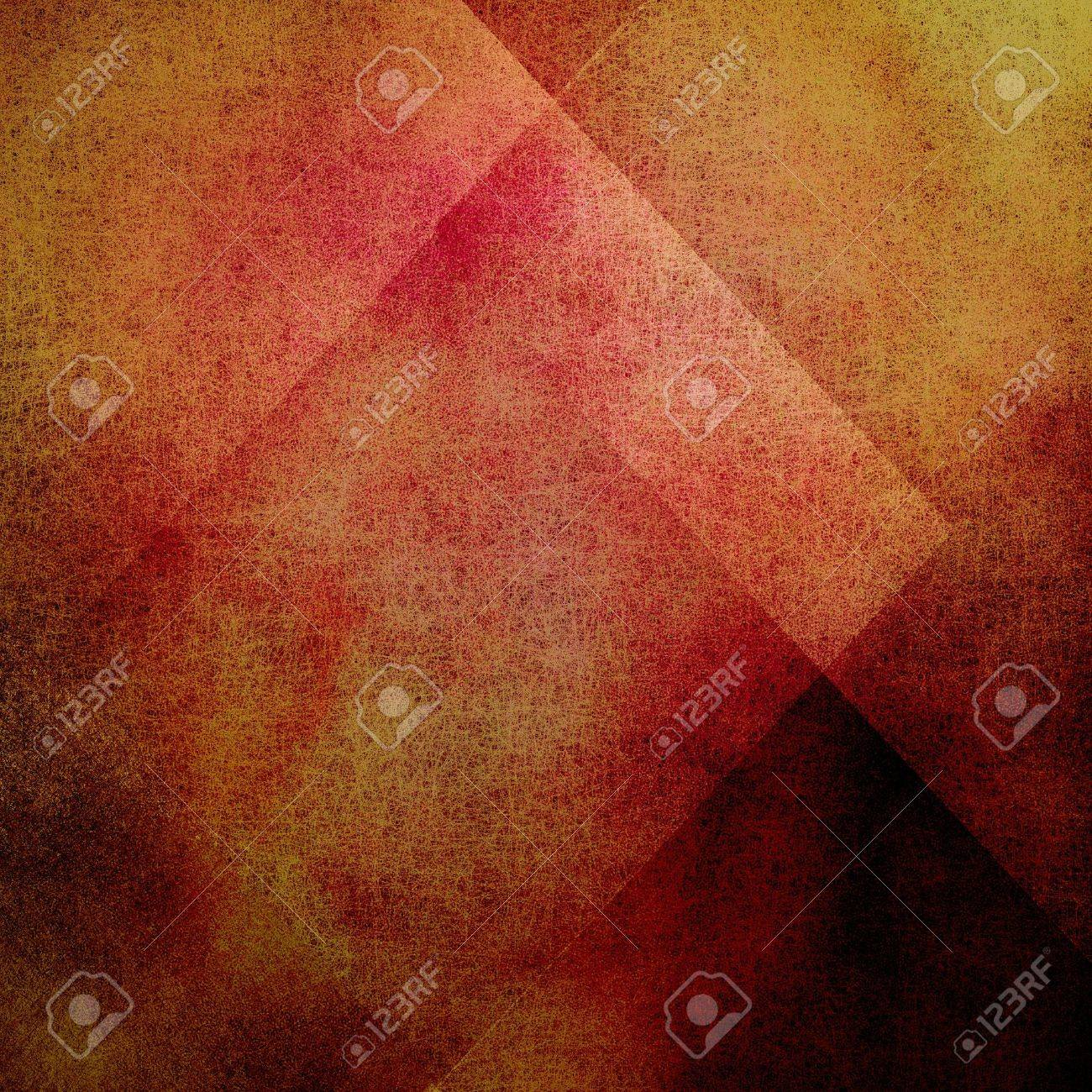 abstract gold background red