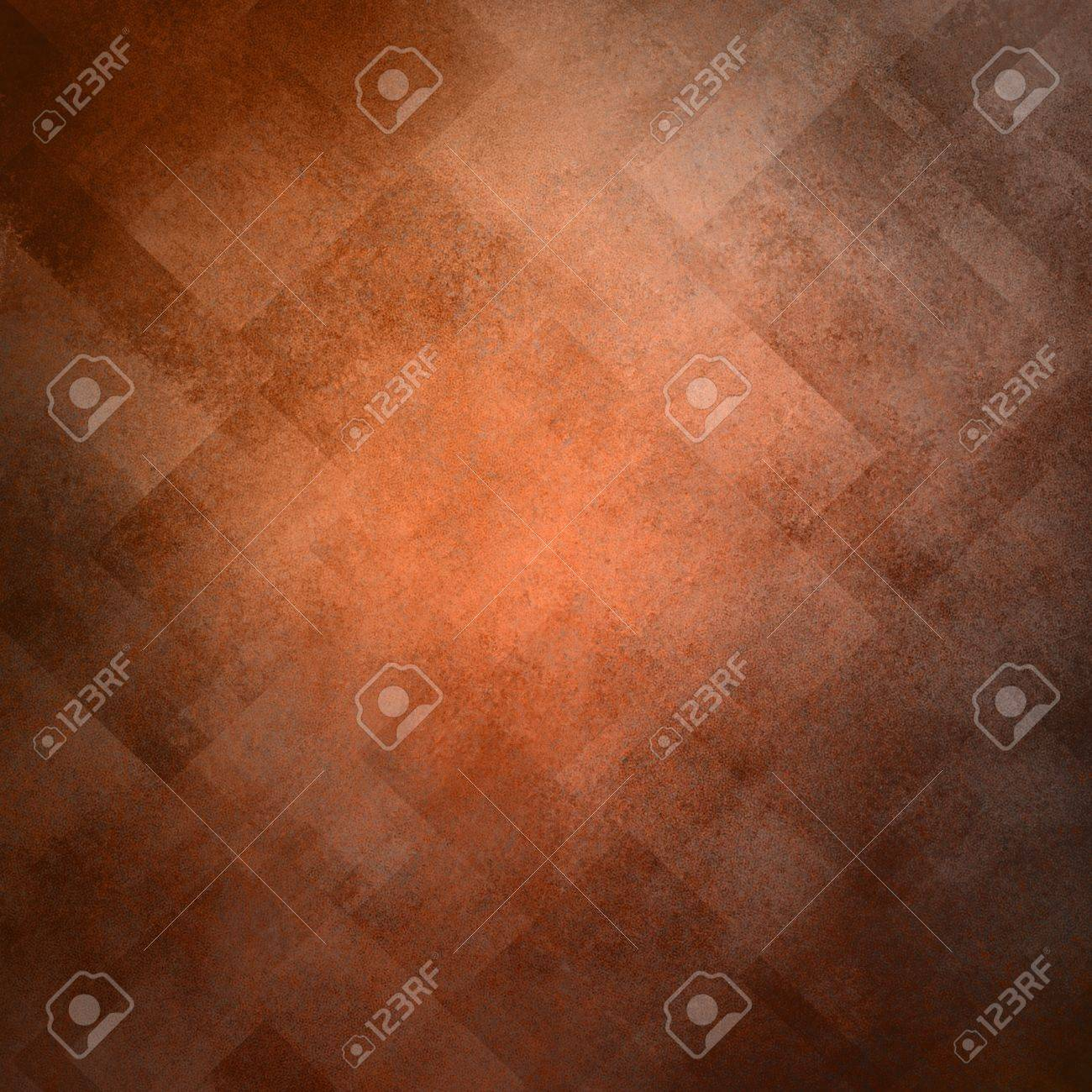 abstract orange background image pattern design on old vintage grunge background texture Stock Photo - 17960982