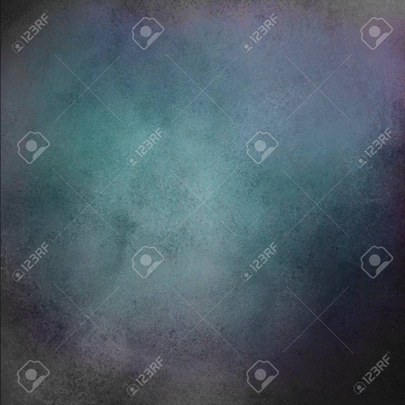 abstract blue background or blue paper with black edges and vintage grunge background texture design for ads or website template backdrop, blue sign Stock Photo - 18083792