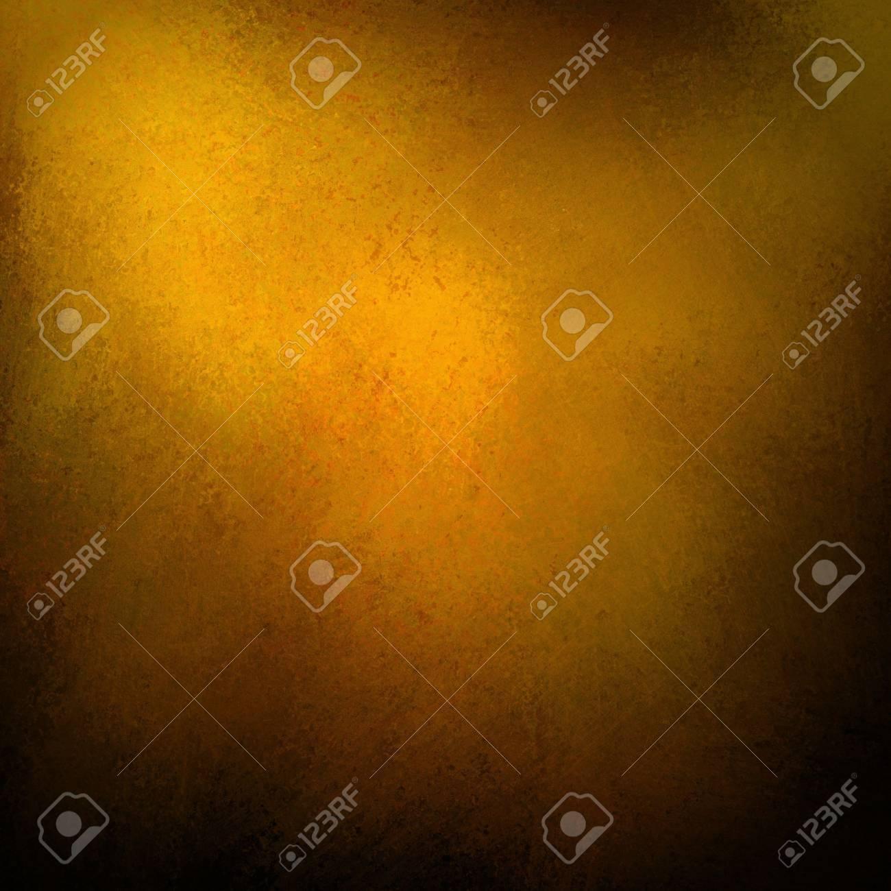 gold vintage background with black vignette border Stock Photo - 18516562