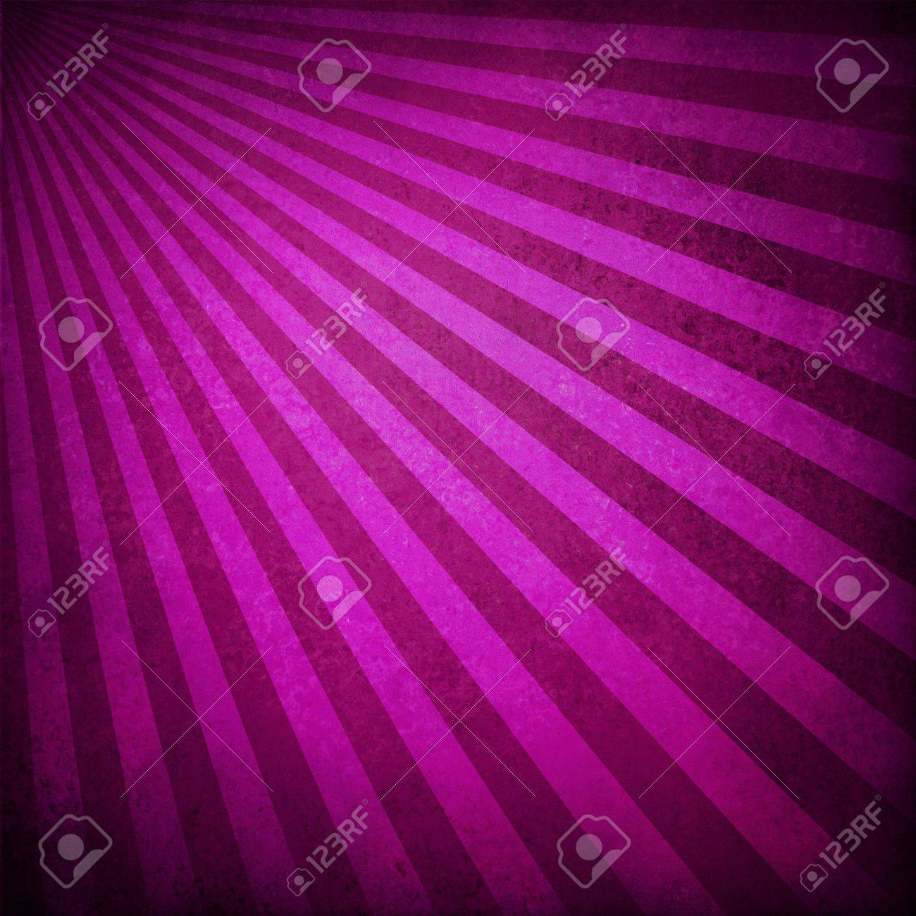 purple pink background retro striped layout, sunburst abstract background texture pattern, vintage grunge background sunrise design, old black border, bright colorful fun paper, valentine background Stock Photo - 18916055