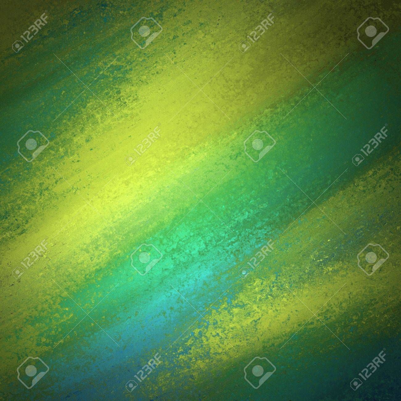 blue gold messy background grunge texture Stock Photo - 19412701