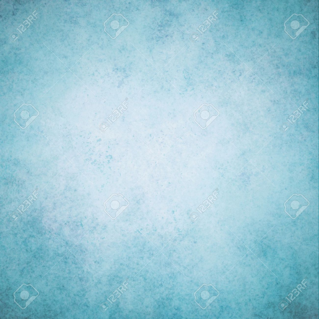 Abstract Blue Background White Color Center Dark Frame With Cloudy Sky  Background Concept, Sponge Vintage
