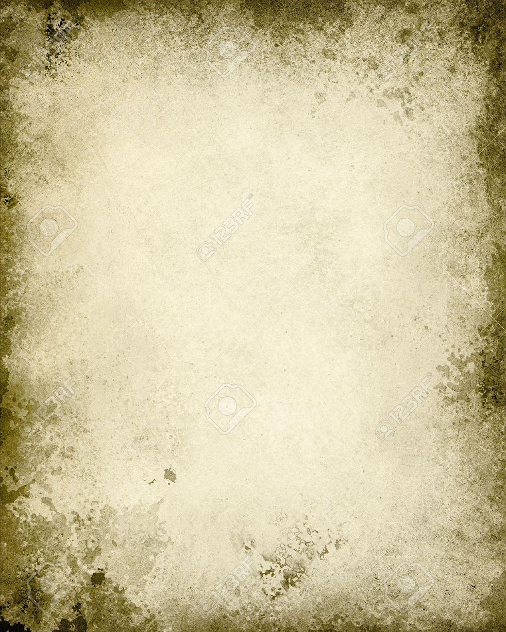 Papel Viejo Blanco Bordes Marrones Quemados, Abstracto, Blanco ...