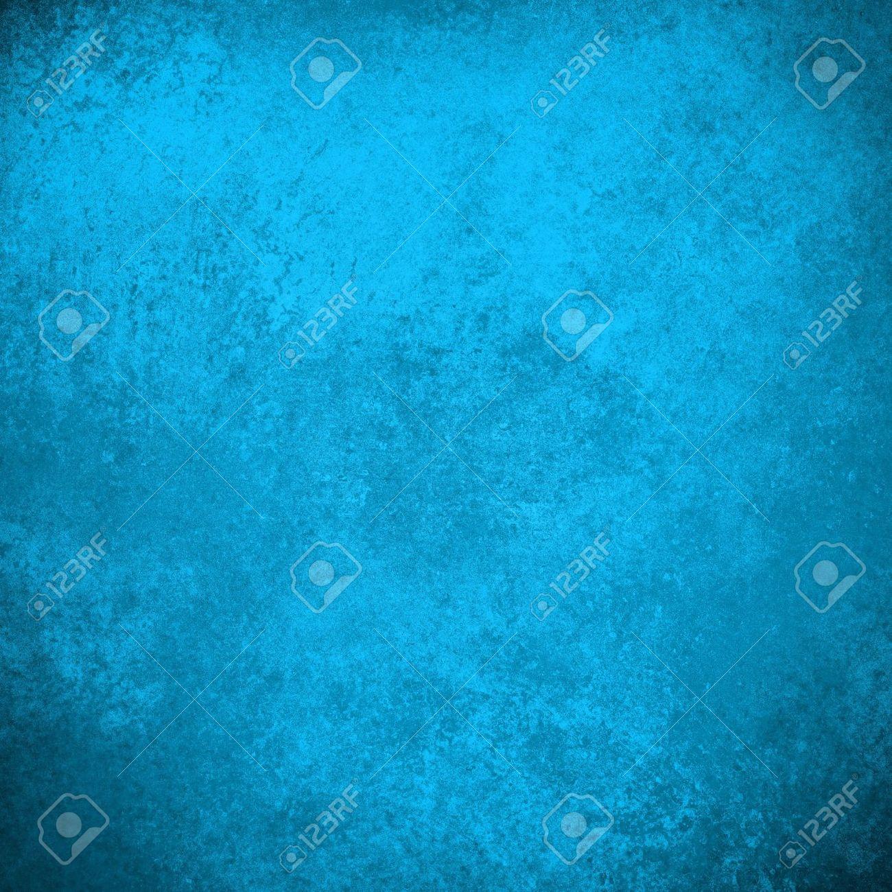 Abstract Blue Background Antique Old Vintage Grunge Background