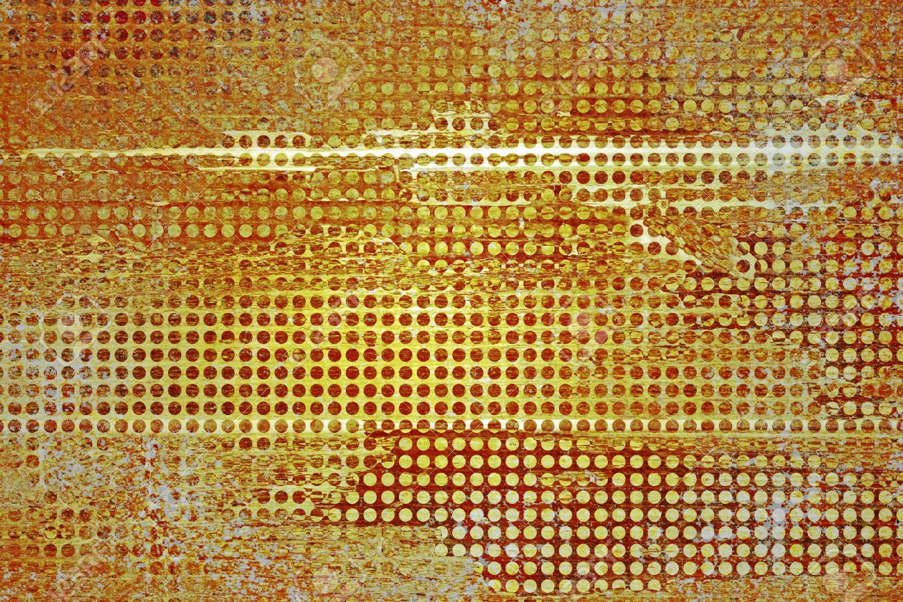 Abstract Gold Hintergrund, Orange, Weiß, Weinlese Grunge Hintergrund ...