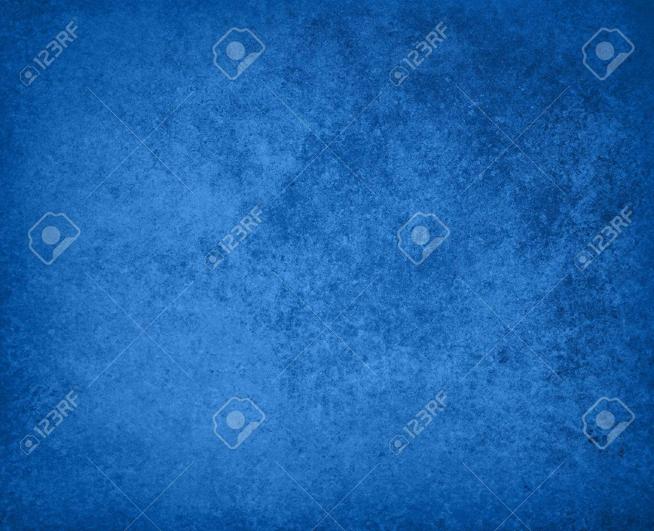 abstract blue background faded stain colors with sponge vintage grunge background texture, distressed rough smeary paint on wall, art canvas or board for brochure ad or website template Stock Photo - 23267295