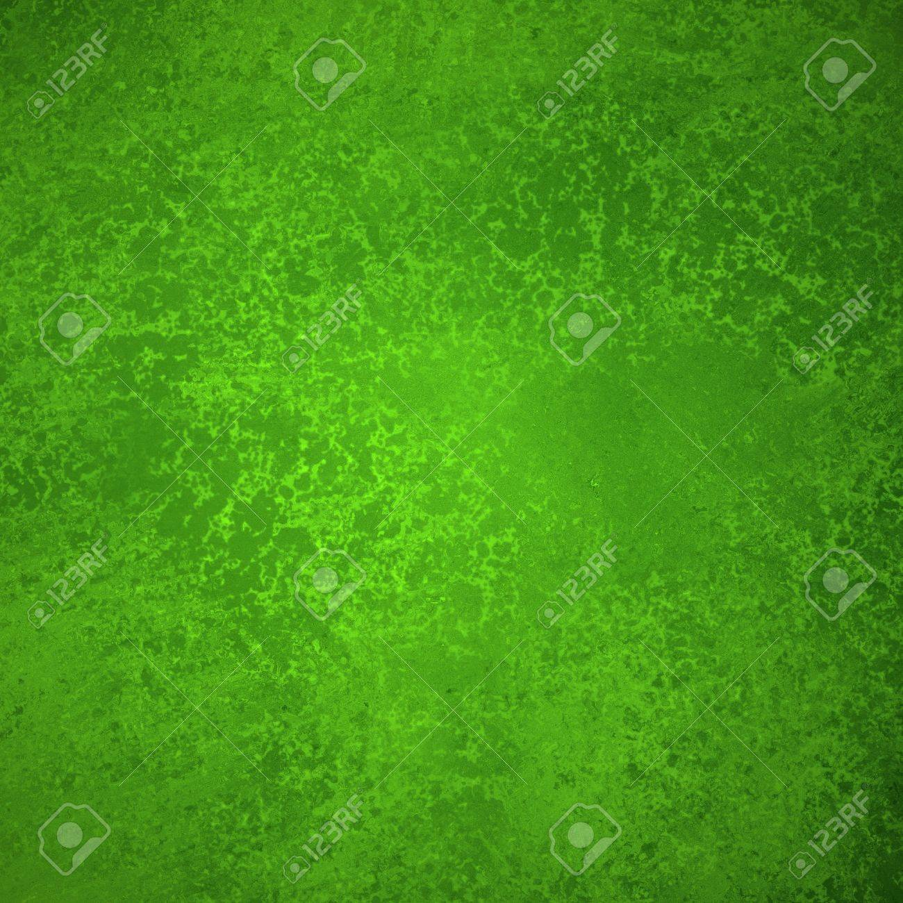abstract green background Christmas design colors with sponge vintage grunge background texture, distressed rough smeary paint on wall, art canvas or board for brochure ad or website template Stock Photo - 24865353