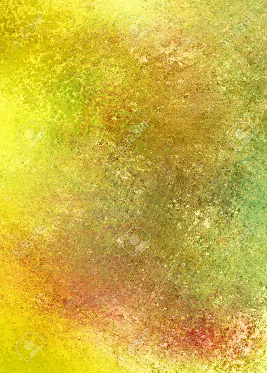 yellow gold background abstract paint illustration, bright vibrant