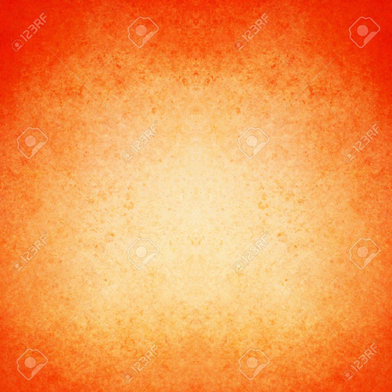 Abstrakte Orange Hintergrund Warme Farbe Weiß Zentrum Dunklen Rahmen