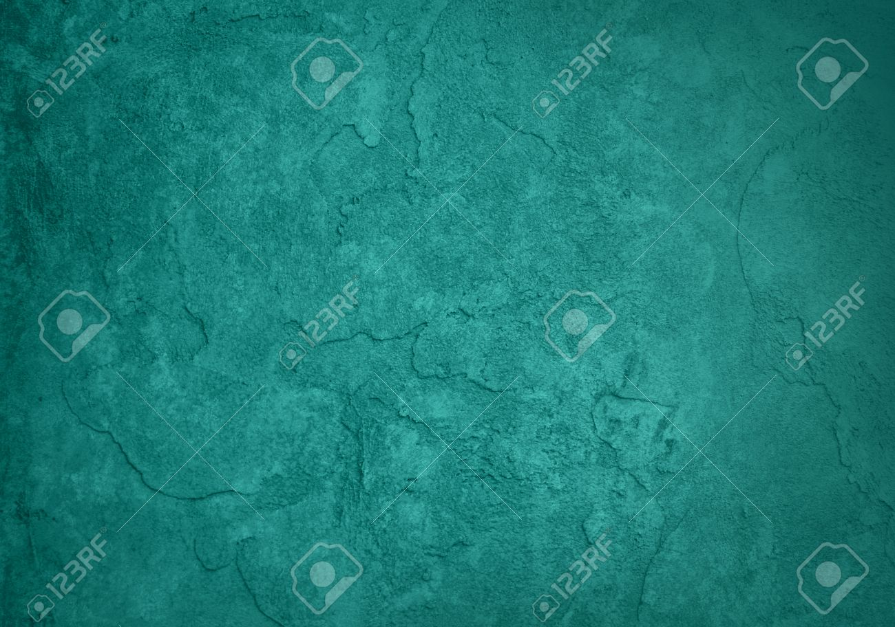 solid blue green background classy elegant rich teal color and vintage texture background design