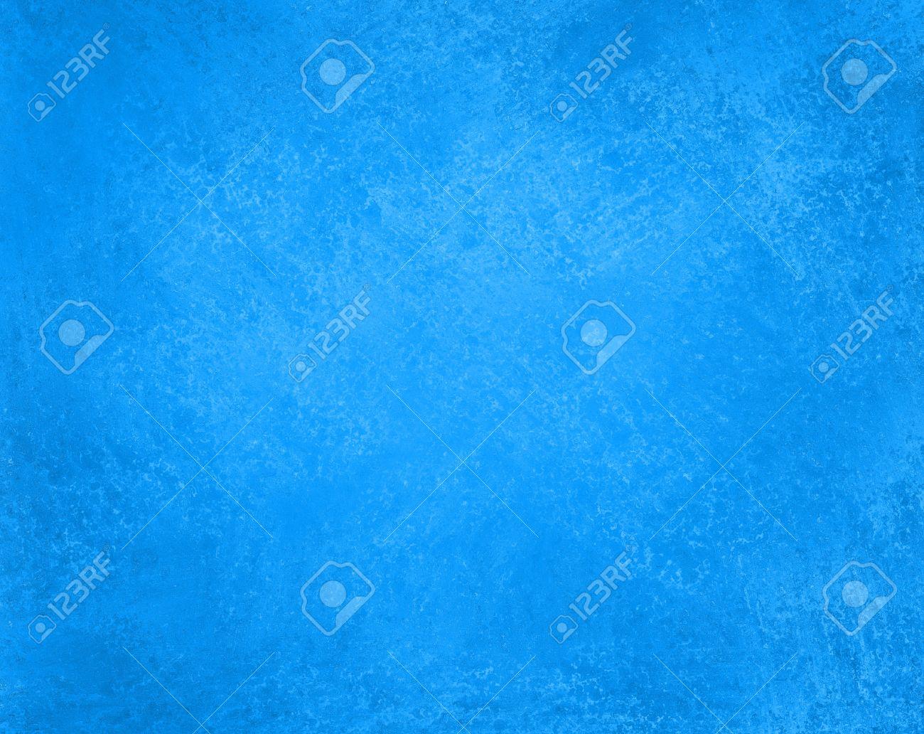 abstract sky blue background color with sponge vintage grunge