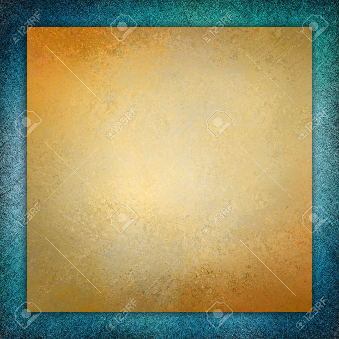 Elegant Gold Background Texture Paper, Faint Rustic Teal Blue ...